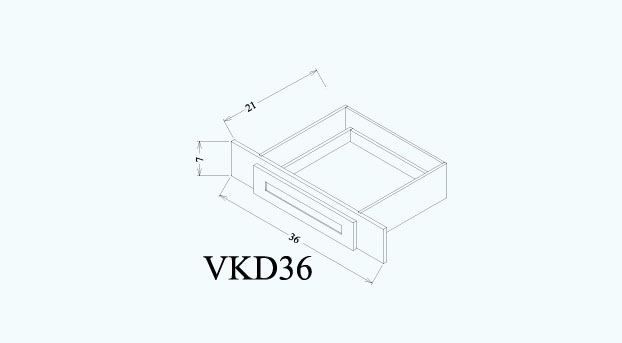 Vanity Sink Cabinet - VKD36