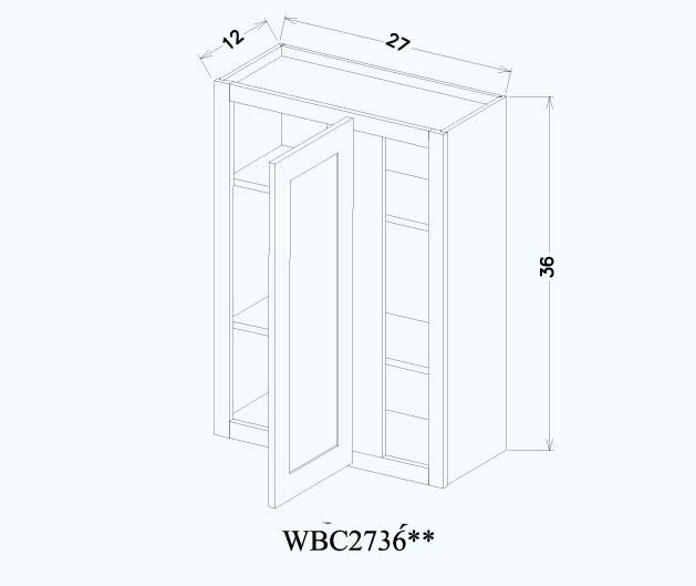 壁柜 - WBC2736**
