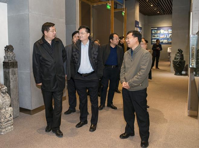 山东省住建厅厅长王玉志在潍坊调研参观考察昌大集团 徐鹏