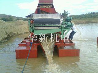 磁滚用于捞沙船