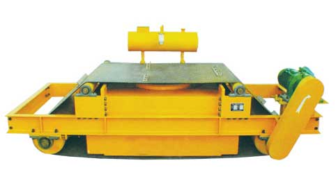 RCDF-T系列超强油冷自卸式电磁除铁器