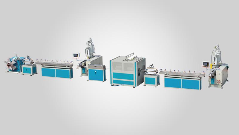 PVC纤维增强软管生产线